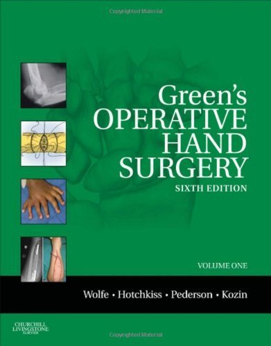 Green's Operative Hand Surgery: 2-Volume Set Expert Consult: Online and Print, 6e (Operative Hand Surgery (Green's)) 6th by Wolfe MD, Scott W., Pederson MD, William C., Hotchkiss MD, R (2010) Hardcover