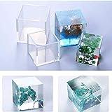 LnLyin Platz Harz Mold Cube Silikonformen Casting Harz für Schmuck Anhänger Armreif Machen Form DIY Hand Handwerk Werkzeug, 20mm
