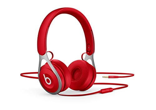 Apple Beats EP - Auriculares (binaurale, jack 3.5 mm, alámbrico, supraaural), color rojo