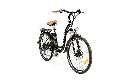 "Moma Bikes Bicicleta Electrica, Urbana EBIKE-26 "","