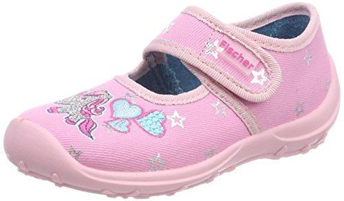 Fischer Mädchen Boogy Hausschuhe, Pink (Rose), 31 EU