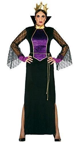 Damen 5 Piece Evil Spiegel Königin-schnee weiß Halloween Kostüm Kleid Outfit UK 14-16-18 (Schnee Königin Kostüm Halloween)