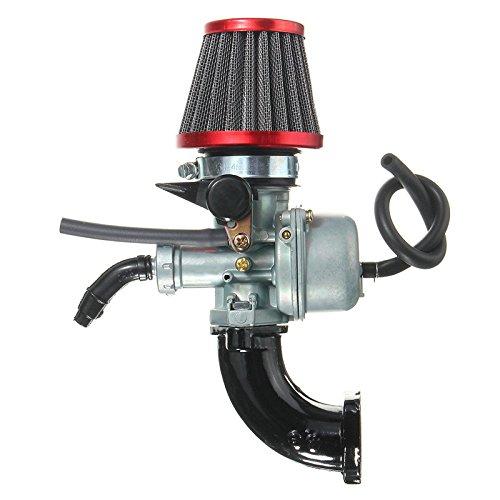 GOZAR 110Cc 125Cc Pit Dirt Bike Vergaser Luft Filter Ansaugrohr SSR Für Honda Lifan Crf50