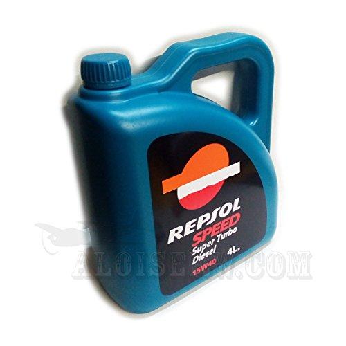 Repsol SPEED SUPER TURBO DIESEL 15W40 4lt olio lubrificante motore euro 4 trazione pesant