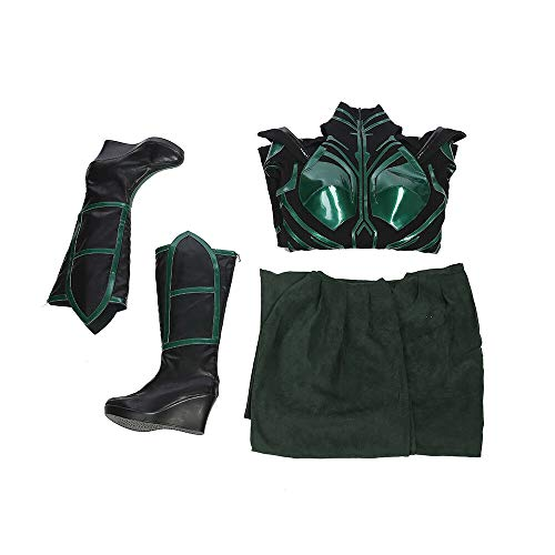 Thor 3 - Hela (Style 2) weibliches Cosplay-Kostüm - Cate Blanchett - - Small