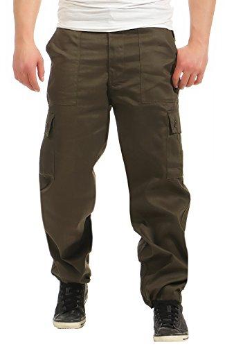 Game Cargo Herren Hose Trouser Pants Camo Camouflage Army Armee Feldhose Khaki