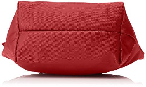 Lacoste L1212 Concept, Borsa a Tracolla da Donna Rosso