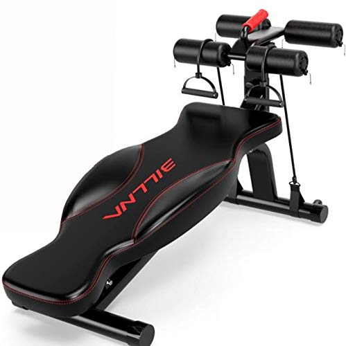 566 Sit-up Board Sit-up Attrezzature for Il Fitness Dispositivo Addominale Maschile Panca con manubri Multifunzione (Color : A)