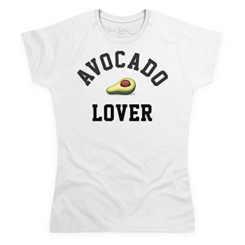 Official Two Tribes Emoji - Avocado Lover T-Shirt, Damen Wei