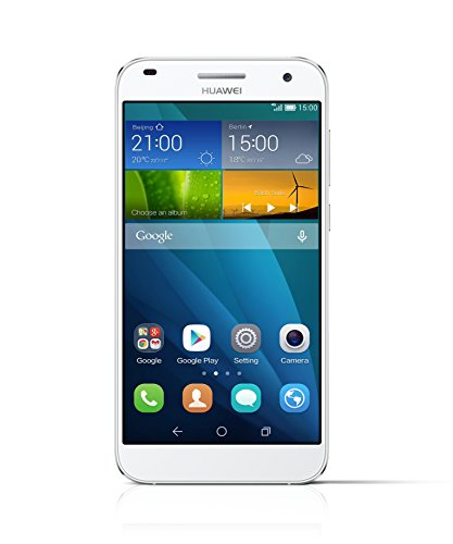 "Huawei G7 - Smartphone libre Android 4.4+ Emotion UI 3.0 (pantalla 5.5"", cámara 13 Mp, 16 GB, Quad-Core 1.2 GHz, 2 GB RAM), blanco"