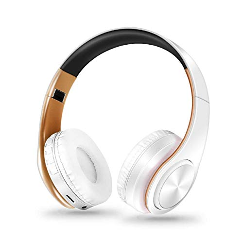 LHSZ Wireless-Kopfhörer Falten Bluetooth-Kartenmotherboard-Kopfhörer Tragen Platin (Platin-chip)