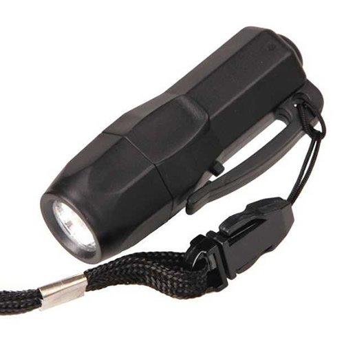 Preisvergleich Produktbild G8DS® Mini Rescue Lampe 3 LED -SCHWARZ- Camping Outdoor Survival Taschenlampe