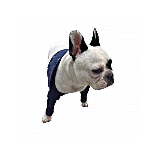 Medical Pet Shirt, Doppelte vordere Beinmanschette, L Hund Stretch-lycra-ring