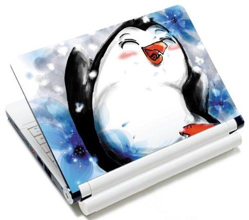 MySleeveDesign Notebook Skin Aufkleber Folie Sticker für Geräte der Größe 10,2 Zoll / 11,6-12,1 Zoll / 13,3 Zoll / 14 Zoll / 15,4-15,6 Zoll mit VERSCH. DESIGNS - Pinguin