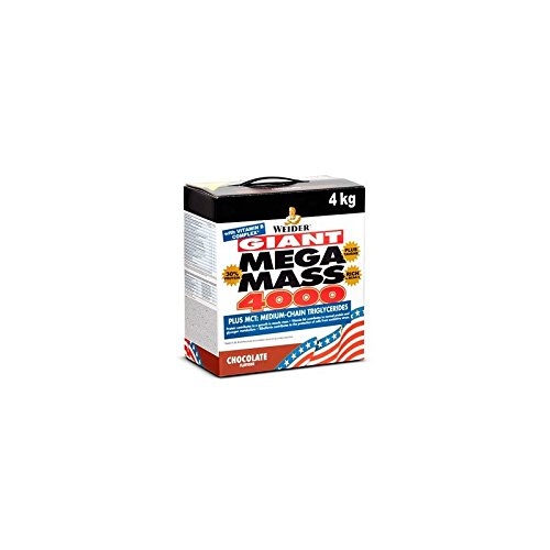 Weider Mega Mass 4000, Kohlenhydrat-Proteinmischung - Geschmack: Vanilla, 1er Pack (1 x...