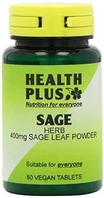 Health Plus Sage 400mg Women's Health Plant Supplement - 60 Tablets by Health + Plus Ltd