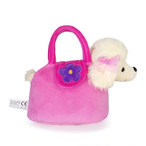 Fancy Pals Peluche Pet Carrier Con Poodle Puppy Dog Toys 17