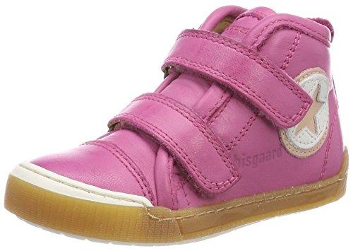 Bisgaard Mädchen Klettschuhe Hohe Sneaker, Pink (Pink), 28 EU