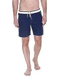 Zobello Mens Swim Shorts (41002A_Navy_Small)