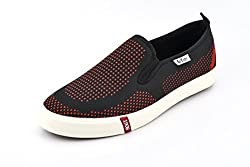 Lee Cooper Mens Red_Black Nordic Walking Shoes - 9 UK/India (43 EU)(LC3633)