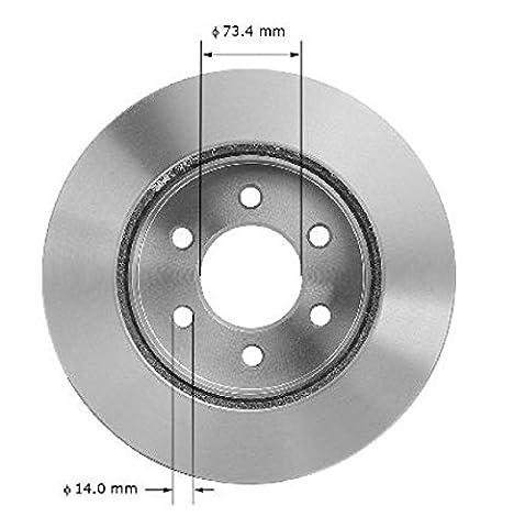 2Front Brake Discs for Dodge Dakota 1997–2002& Durango 1998-2002