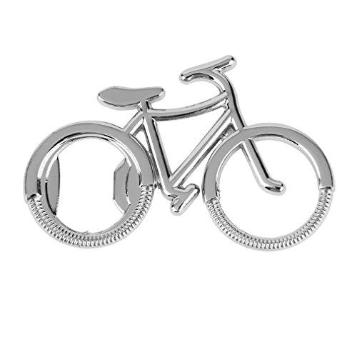 Ouken Partido para Bicicleta de Metal Botella de Cerveza abridor Aniversario de Boda Llavero del Regalo