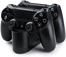 Bestand Dualshock 4 estación de carga para Playstation 4 Controlador Inalámbrico, con Dual USB HUB puertos del carga