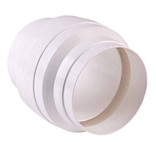 Bielmeier V651135 Kondenswassersammler d: 125 mm weiß, passend für das System 125 rund