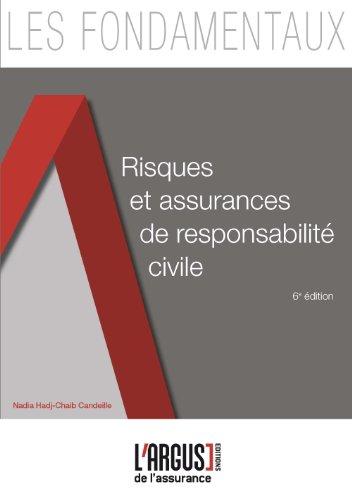 Risques et assurances de responsabilité civile