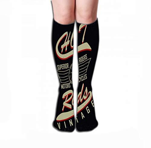 Hohe Socken High Socks Novelty Compression Long Socks 19.7