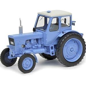 Schuco 450907500 Belarús MTS-50 - Maqueta de Coche (Escala 1:32), Color Azul