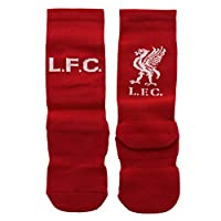 Liverpool FC Red Boys Twin Pack Home Socks LFC Official