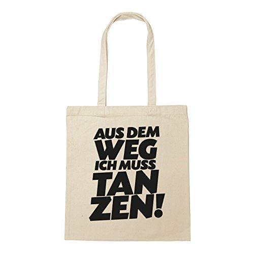 """Baumwoll Turnbeutel mit Spruch Motiv /"""" #bockt /"""" Hipster Jute Tasche Gym Bag"""