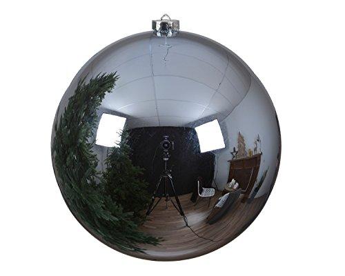 Christbaumkugeln Kunststoff 14cm für den Christbaum ( eisblau ) // Weihnachtskugeln Baumkugeln Baumschmuck Weihnachtsdeko Weihnachten Christbaumschmuck