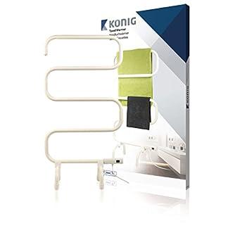 König KN-TH10 secadora eléctrica para toallas 100 W Blanco – Secador de toallas (50-60 Hz, 230 V, 50 mm, 510 mm, 860 mm, 3,13 kg)