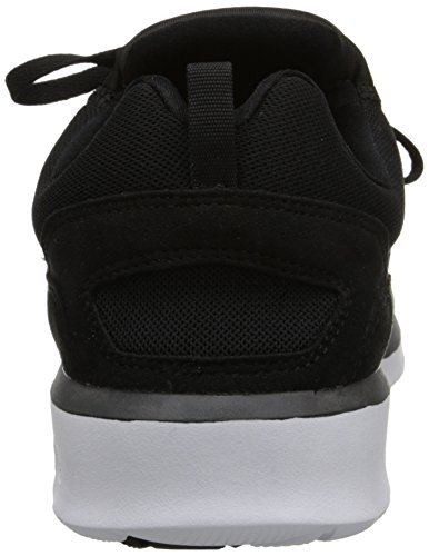 DC Shoes Men's Heathrow Sneakers Low Top Shoes Black/White