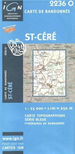 St-Céré gps (Ign Map) par Institut Geographique National