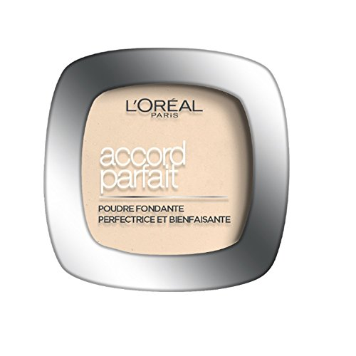L'Oréal Paris Make Up Designer - Accord Parfait Fond de teint Poudre Fondante D3 Beige Doré