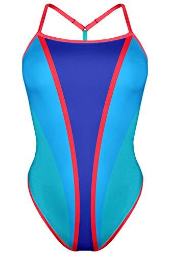 TAYMORY Bañador de Natación Mujer Brave ONA Carbonell XS