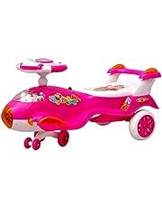 Toyshine Aeroplane Airbus Magic Car Ride-on Toy