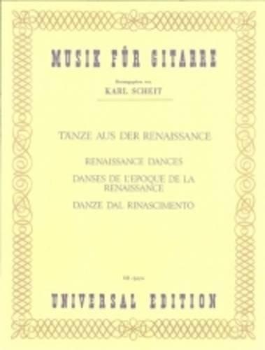 Renaissance Dances for Guitar: UE13070