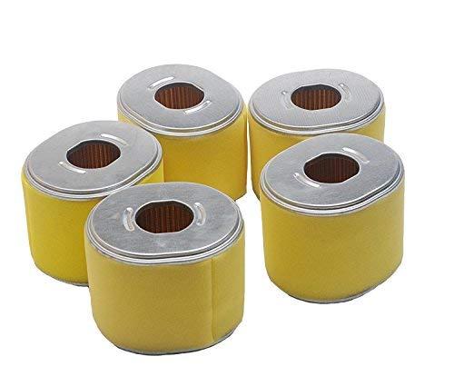 Beehive filtro Pack of 5 Air Filter Fit For Honda GX340 GX390 11HP & 13HP  Engine New Aftermarket Part # 17210 de ze3 - 010, 17210 de ze3 - 505