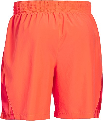 Under Armour Uomo Running 7 pollici Launch Woven Shorts Bolt Orange