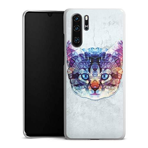 DeinDesign Hülle kompatibel mit Huawei P30 Pro Handyhülle Case Rainbow Cat Cat Katze Cat Hard Case