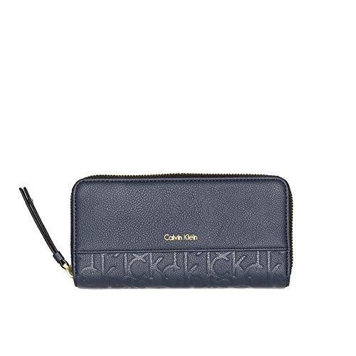 Preisvergleich Produktbild Calvin Klein - Mish4 - Damen Portemonnaie - Ombre Blue
