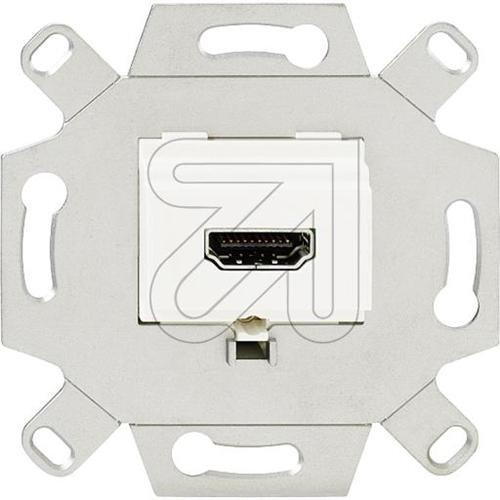 Dvi-montage (Rutenbeck HDMI-Anschlussdose 1-fach, KM Up 0 rw, 17010553)