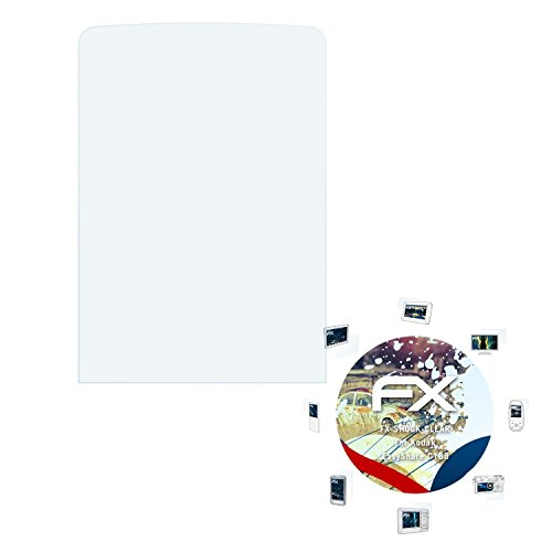 Kodak EasyShare C183 Folie - 3 x atFoliX FX-Shock-Clear stoßabsorbierende ultraklare Panzerfolie Displayschutzfolie