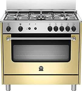 Bertazzoni La Germania Americana AMN905GEVSCRE Piano cottura Gas A+ Crema cucina