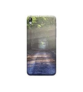 Ebby 3d printed back case cover for HTC 816(Premium Designer Case)