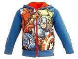 Super Heroes Marvel Avengers - Sweatshirt für Jungen - 6801HR [Blau - 8 Jahre - 128 cm]